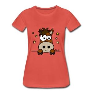 T-shirt P Femme Poney Club, Équitation, Cheval - T-shirt Premium Femme