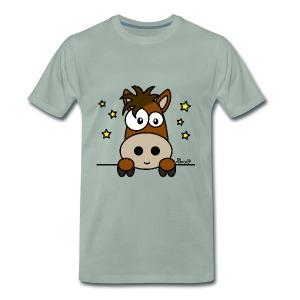 T-shirt P Homme Poney Club, Équitation, Cheval - T-shirt Premium Homme