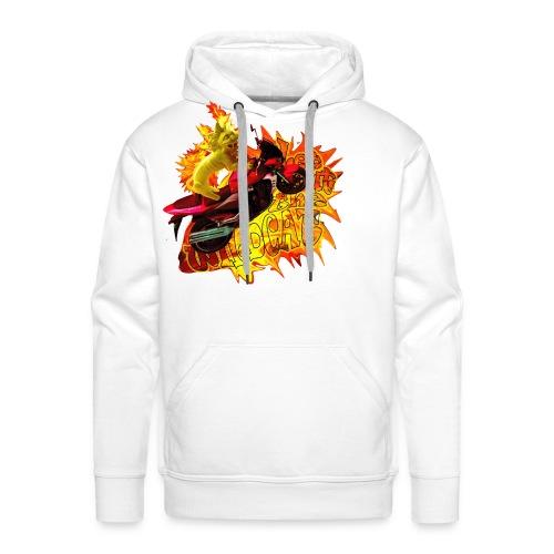 Let out the wildcat 2, sweatshirt - Herre Premium hættetrøje