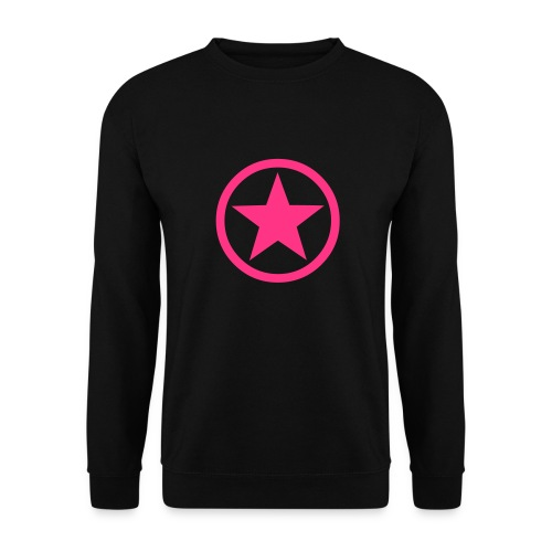 Pink Star - Men's Sweatshirt