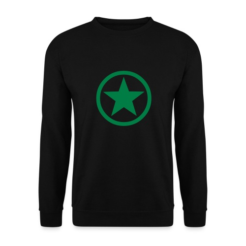 Green Star - Men's Sweatshirt