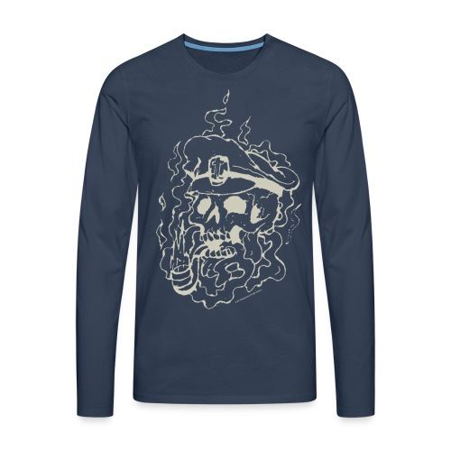 Skull Collection  - Men's Longsleeve Shirt - Men's Premium Longsleeve Shirt