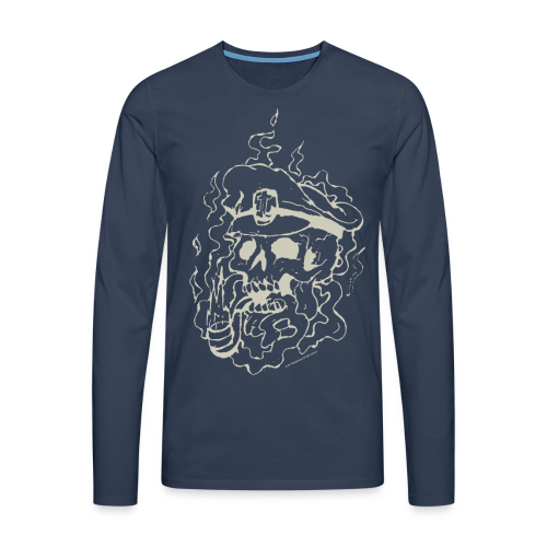Skull Collection  - Men's Longsleeve Shirt - Men's Premium Longsleeve Shirt