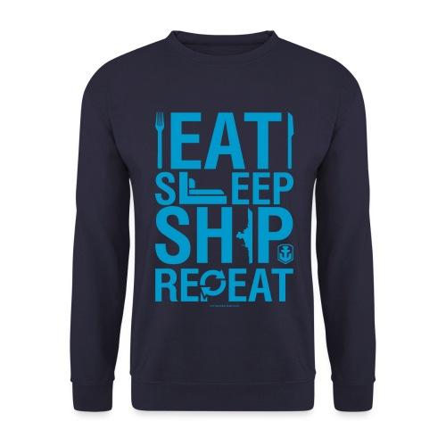 EatSleepShip Collection - Pullover - Men's Sweatshirt