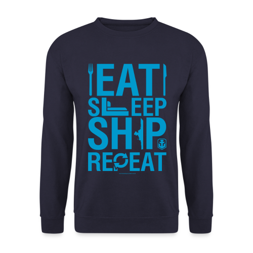EatSleepShip Collection - Pullover - Men's Sweatshirt