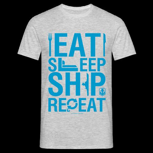 EatSleepShip Collection - Men's T-Shirt - Men's T-Shirt