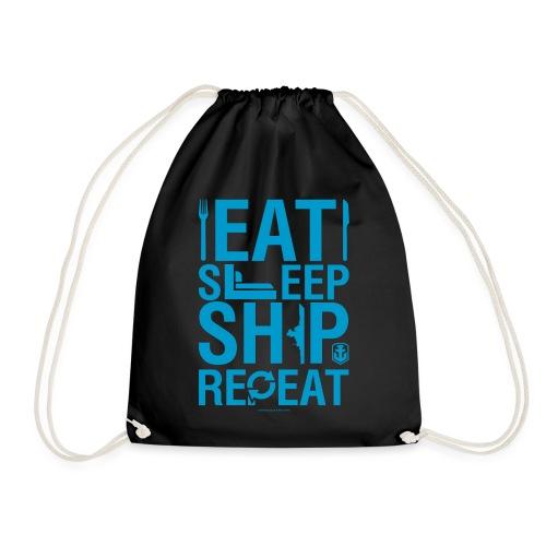 EatSleepShip Collection - Gym Bag - Drawstring Bag