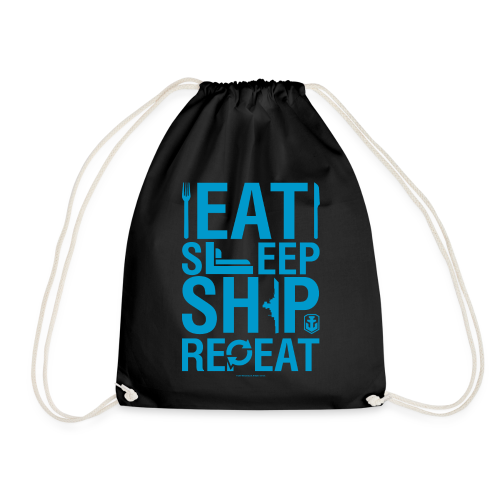 EatSleepShip Collection - Gym Bag - Drawstring Bag