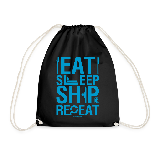 EatSleepShip Collection - Gym Bag