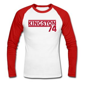 KINGSTON 74  ROUGE - T-shirt baseball manches longues Homme