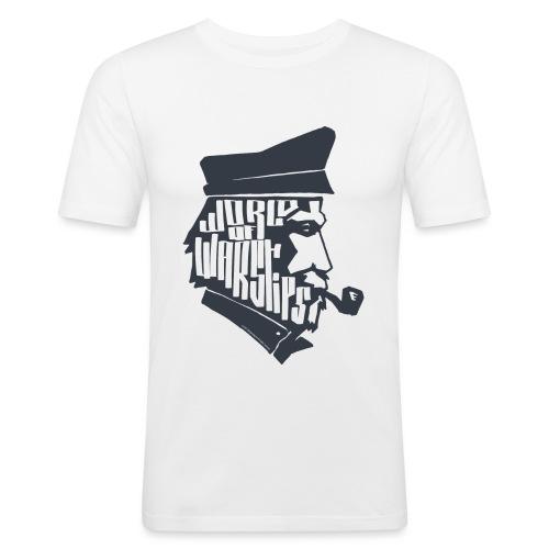 Captain Collection - Men's T-Shirt - Men's Slim Fit T-Shirt