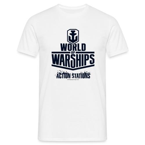 World of Warships Black Logo Collection - Men's T-Shirt - Men's T-Shirt