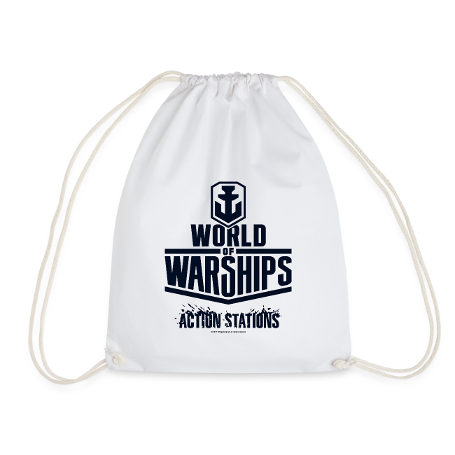 World of Warships Black Logo Collection - Gym Bag