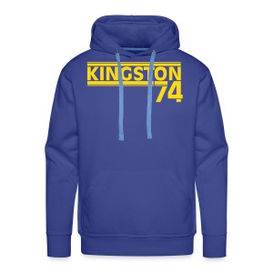 KINGSTON 74  JAUNE - Sweat-shirt à capuche Premium pour hommes