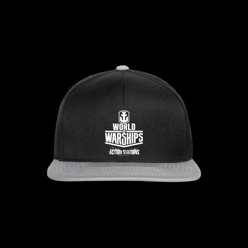 World of Warships White Logo Collection - Cap - Snapback Cap