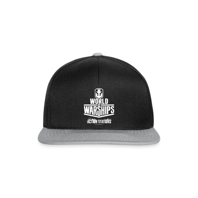 World of Warships White Logo Collection - Cap