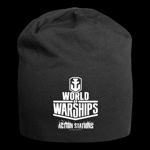 World of Warships White Logo Collection - Beenie - Jersey Beanie