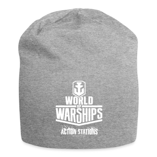 World of Warships White Logo Collection - Beenie