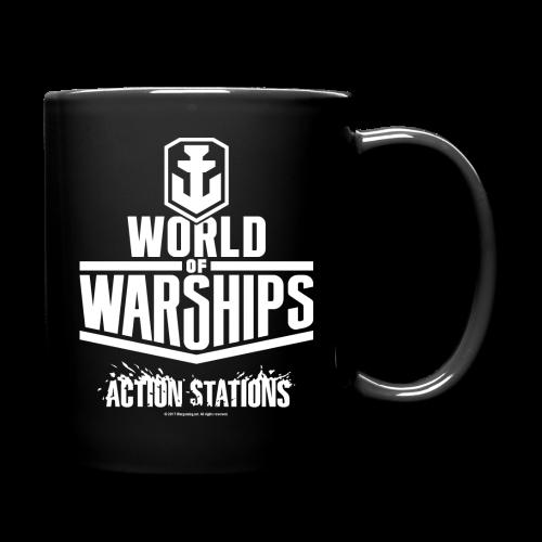 World of Warships White Logo Collection - Mug - Full Colour Mug