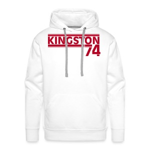 KINGSTON 74  ROUGE - Sweat-shirt à capuche Premium pour hommes