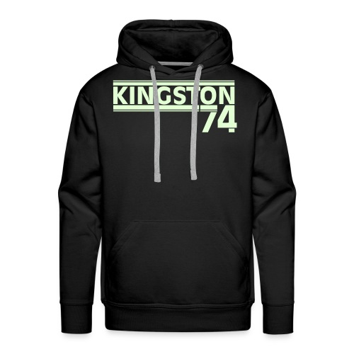 KINGSTON 74  PHOSPHORESCENT - Sweat-shirt à capuche Premium pour hommes