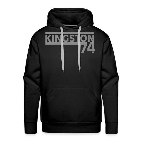 KINGSTON 74  ARGENT - Sweat-shirt à capuche Premium pour hommes