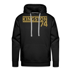 KINGSTON 74  GOLD - Sweat-shirt à capuche Premium pour hommes