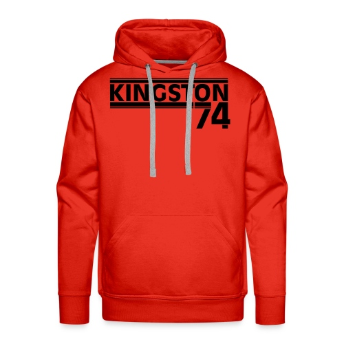 KINGSTON 74  NOIR - Sweat-shirt à capuche Premium pour hommes