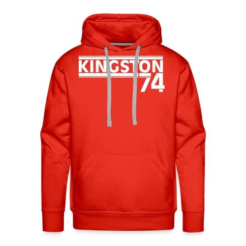 KINGSTON 74  BLANC - Sweat-shirt à capuche Premium pour hommes