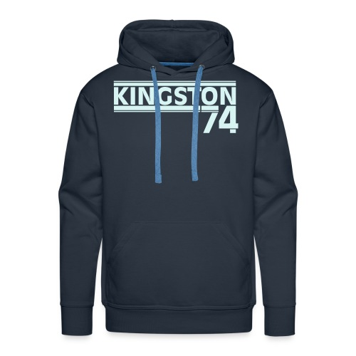 KINGSTON 74 REFLECTEUR - Sweat-shirt à capuche Premium pour hommes