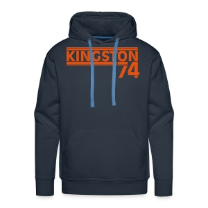 KINGSTON 74 ORANGE - Sweat-shirt à capuche Premium pour hommes