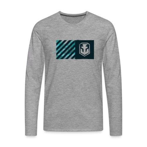 Blue Label Collection - Men's Longsleeve Shirt - Men's Premium Longsleeve Shirt