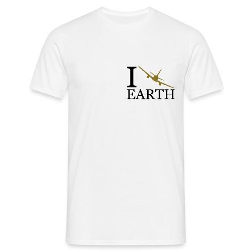 I fly earth - Koszulka męska