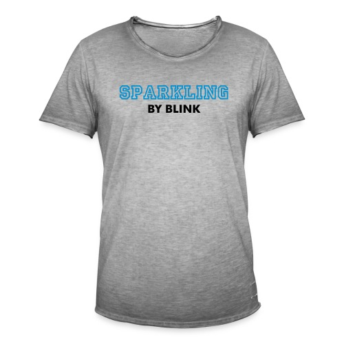 SPARKLING by Blink - Mannen Vintage T-shirt