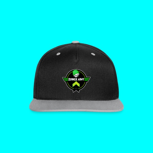 Zennox Army Limited Edition Snapback - Contrast Snapback Cap