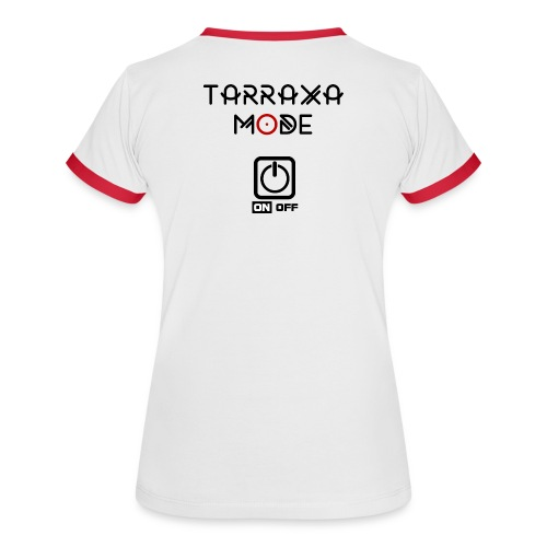 Tarraxa Mode Women (Wh-Red) - Women's Ringer T-Shirt