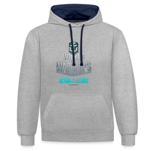 World of Warships Logo Collection - Hoodie - Contrast Colour Hoodie