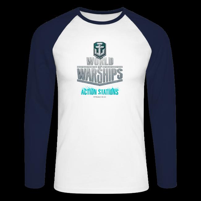 World of Warships Logo Collection - Men's Longsleeve Shirt