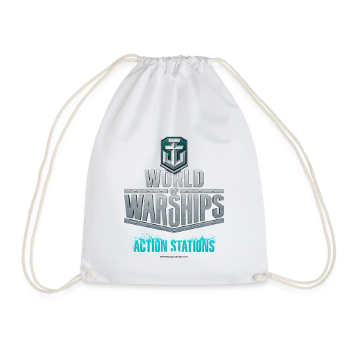 World of Warships Logo Collection - Gym Bag - Drawstring Bag