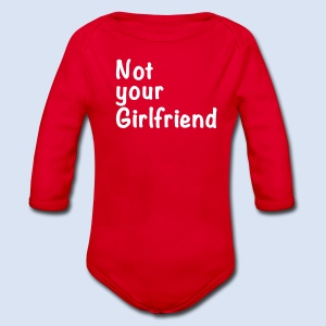 Not your Girlfriend - Liebe & Design - Baby Bio-Langarm-Body