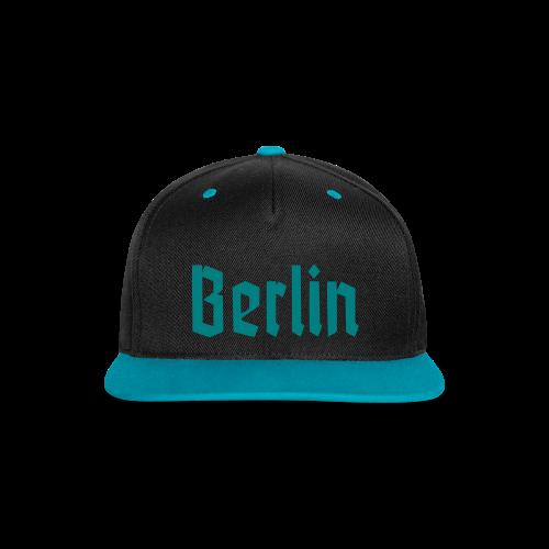 BERLIN Fraktur Berlinschrift - Kontrast Snapback Cap