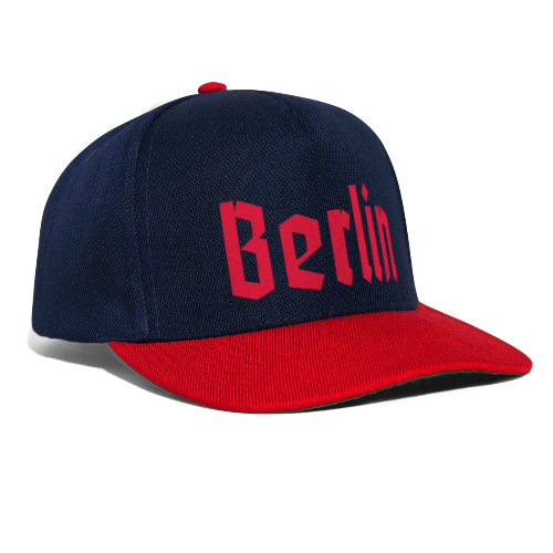 BERLIN Fraktur Berlinschrift - Snapback Cap