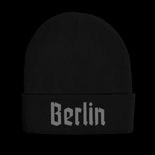 BERLIN Fraktur Berlinschrift - Wintermütze