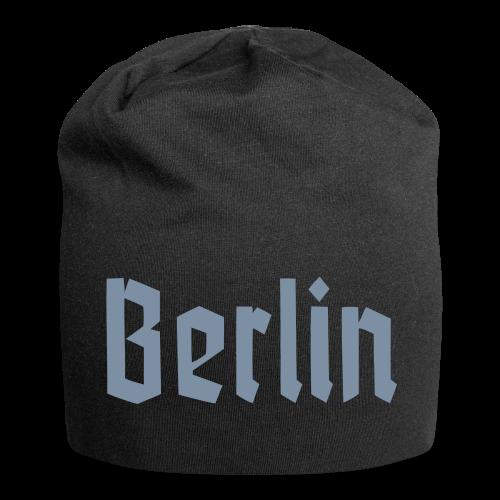 BERLIN Fraktur Berlinschrift - Jersey-Beanie