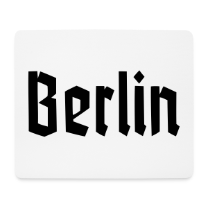 BERLIN Frakur Berlinschrift - Mousepad (Querformat)