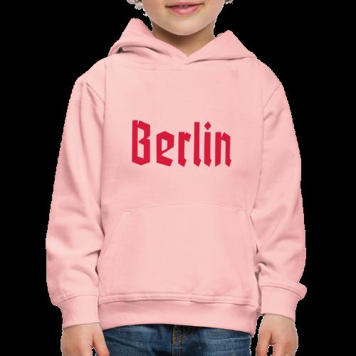 BERLIN Fraktur Berlinschrift - Kinder Premium Hoodie