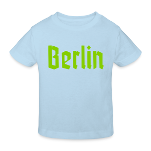 BERLIN Fraktur Berlinschrift - Kinder Bio-T-Shirt