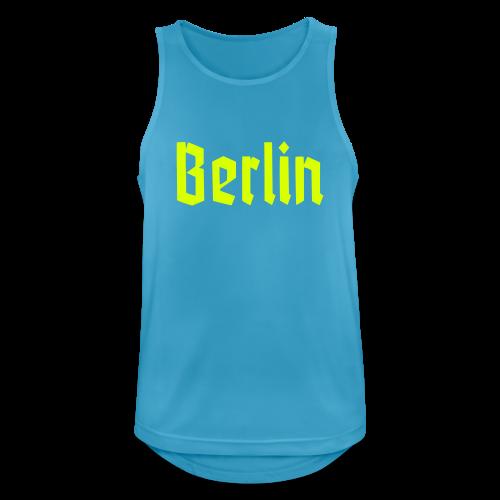 BERLIN Fraktur Berlinschrift - Männer Tank Top atmungsaktiv