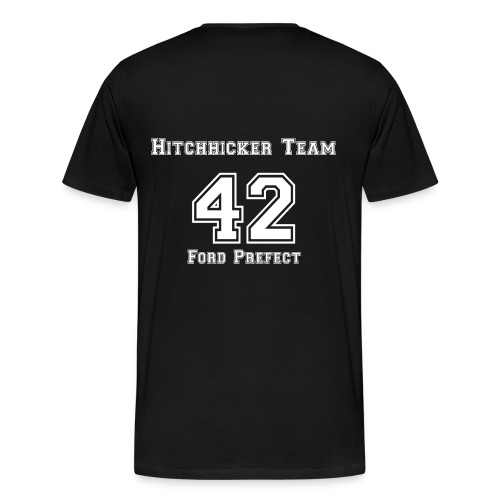 Hitchhicker Guide - T-shirt Premium Homme