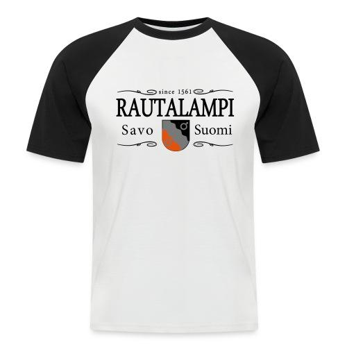Rautalampi - baseballpaita - Miesten lyhythihainen baseballpaita